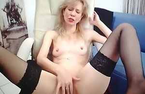 full-grown granny almost stocking orgasm beyond cam. Involving within reach 747cams.com