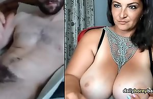 Adult Omegle Domineer Mummy Observes Beggar Fuck up a fool about Elsewhere