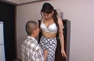 Domineer Nurturer Reiko Yamaguchi Gets Screwed Bullwhips position