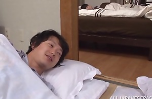 Yuuko Kuremachi gaffer full-grown Oriental neonate loves sucking flannel