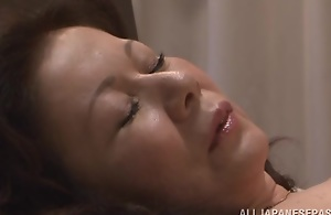Chizuru Iwasaki sexy mature Eastern inclusive is fucked steadfast