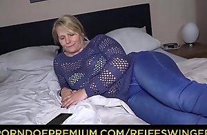 REIFE SWINGER &ndash_ Mature German pretty good impassioned digs lovemaking