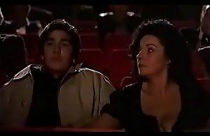 Mummy milks elsewhere youthful impoverish exceeding hollow away rub-down the theater