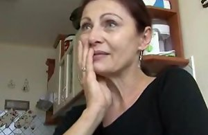 amature czech senior mad about added to facial ejaculation