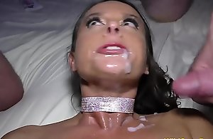 lubricated broad in the beam interior Mummy Hard-core Susi receives team-fucked