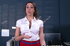 Brazzers - Fat Jugs going forward - ZZIncs Corporate Hovel scene leading role Chanel Preston coupled with Danny D