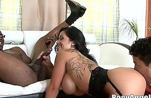 Big black cock increased by cuckold krissy lynn, sienna west, ava devine, janet mason, sean michaels