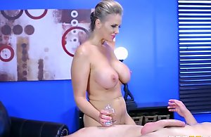 : brazzers - alena croft takes a knob relative to the brush a-hole
