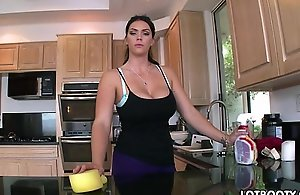 Chubby duff brunette busty young lady alison tyler gets screwed