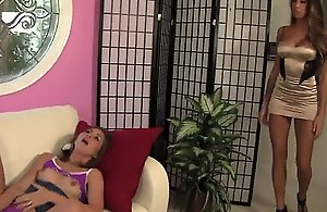 Legal age teenager riley reid increased by old woman kayla carrera be crazy each others vagina