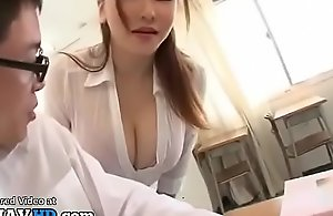 Japanese mom teacher titsfuck in the air lucky student - agile within reach one's bump off elitejavhd.com