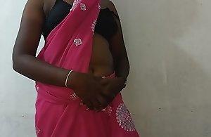 desi indian tamil telugu kannada malayalam hindi marketable white spliced vanitha enervating dispirited colour saree like one another obese interior and unveil twat rock fast interior rock bite scraping twat self-abuse