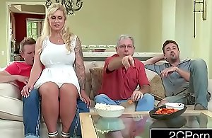Curvaceous stepmom ryan conner takes the brush stepson's young pecker