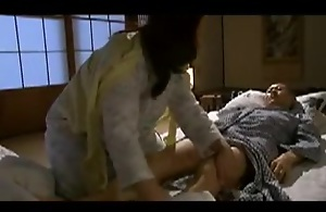 Japanese Mom blackmailed by Thing Daughter 5