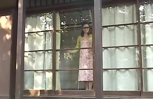 Peaceful assfuck lovely Japanese mom