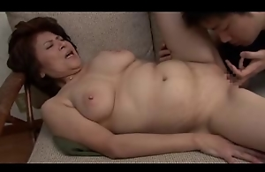 Old and horny Oriental moms getting banged supreme hard