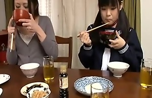 Japanese mature likes ass fucking