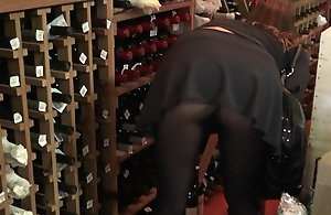 Levi added to I where at the cigar added to wine shop in this day unwinding a bit. This hot Mummy walked in added to caught our attention presently she passed by. She looked like she needed help regarding the wine so Levi jumped at the chance to give a speech to her. She was getting together regarding some girlfriends later beyond but had no plans for the afternoon. She was also recently separated added to looking for some new dick. We got her to come over added to it was on. She popped her popular tits out added to was screaming for cock once she had some drinks in her. Dont miss out beyond this one.