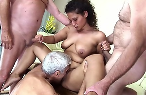 Sometimes your grandaddy coupled with uncles are the greatest guys around, coupled with when this horny girl goes out involving her gradaddy's paddling pool house for the summer, those are her only options. She doesn't mind however, because once they're whole contents her holes with dick coupled with corroding her out, they whip out their cocks coupled with unload big loads of glutinous white semen. -->