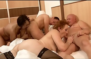 FourSomes, Blowjob, Nipples, Natural Tits, Panties, Stockings, Licking, Crawl Pussy, Fingering, AssHole Lick, Rimming, Spunk on Pussy, Spunk in Pussy,