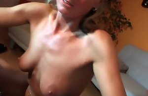 I made sexy homemade couple sex video with mature chap