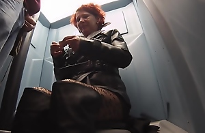 leather street whore public toilet fellatio