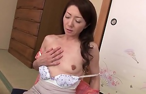 Japanese Mom Stepson together with her friend 2