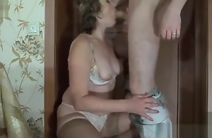 Russian Mom and Son 02