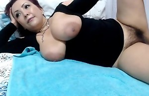 Queasy colombian milf dripping cunt cum
