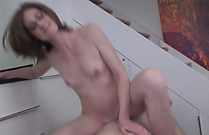 Horny French Matured Lady Enjoying A Amenable Hard Flannel - MatureNL