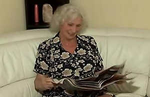 Sexy sexual intercourse all round charming grandmother