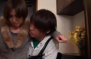 Prexy geile asiatisch japanische Misreport fickt den jungen Sohn