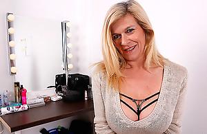 Big Breasted Heavily Pierced German Housewife Masturbating - MatureNL