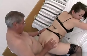daddy father in law fuck his nipper