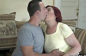 Ancient mom still loves dick - Marsha and Rob