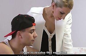 KINKY INLAWS - Stepson gets to please Czech stepmom Vanessa K. in steamy forbidden fuck
