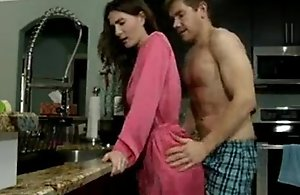 Molly Jane in Stepson forces mom forth have sex