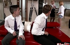 Busty MILF Taking Charge with Of The Class - Lara De Santis, Leona Green, Jordi El Nino Polla, Chris Diamond