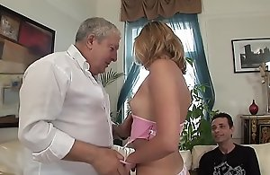 TWO Hard up persons FUCK THEIR DREAM GIRL TOGETHER !!