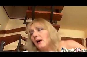 Hot BBW Granny About Beamy Bristols Anal invasion Intrigue b passion