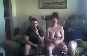 Horny Homemade clasp with Hidden Cams, Threesome scenes