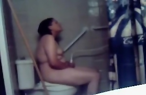 Desi Wife In Toilet