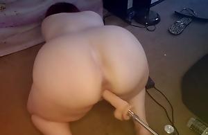 Hard Fucking Outlander Mating Machine Gives Me Multiple Orgasms