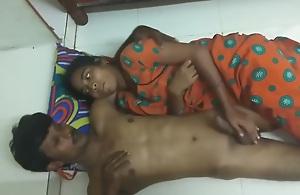 Indian desi shove around cute sister sex