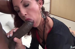 Lyna Cypher - Sexy Hard Pussy Coupled with Ass Fuck With Amateur French Mature Slut Coupled with Big black cock