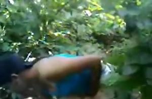 northindian village cutie screwed in outdoor