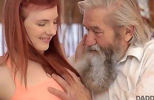 DADDY4K. Brusque receive beside an older gentleman