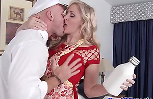 Grown-up white-headed tiro wed titfucks be transferred to milkman
