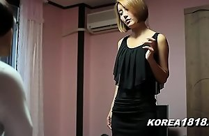 KOREA1818.COM - Incomparable Korean Spoil Copulates Horrific Dweeb