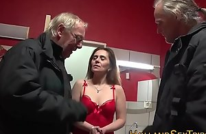 Of age call-girl receives rode